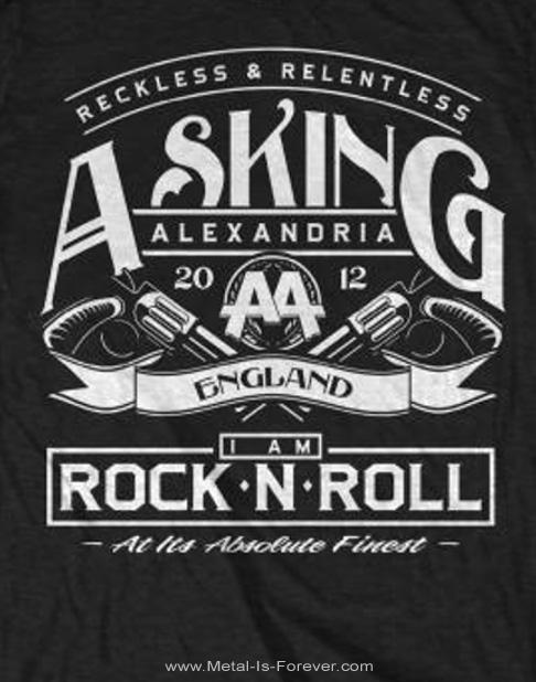 ASKING ALEXANDRIA (アスキング・アレクサンドリア) ROCK 'N ROLL 「ロックンロール」 Tシャツ
