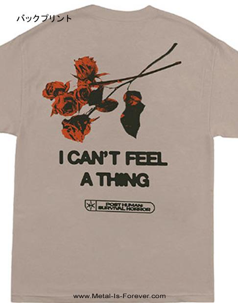 BRING ME THE HORIZON (ブリング・ミー・ザ・ホライズン) FLOWERS 「フラワー」 Tシャツ(サンド・カラー)