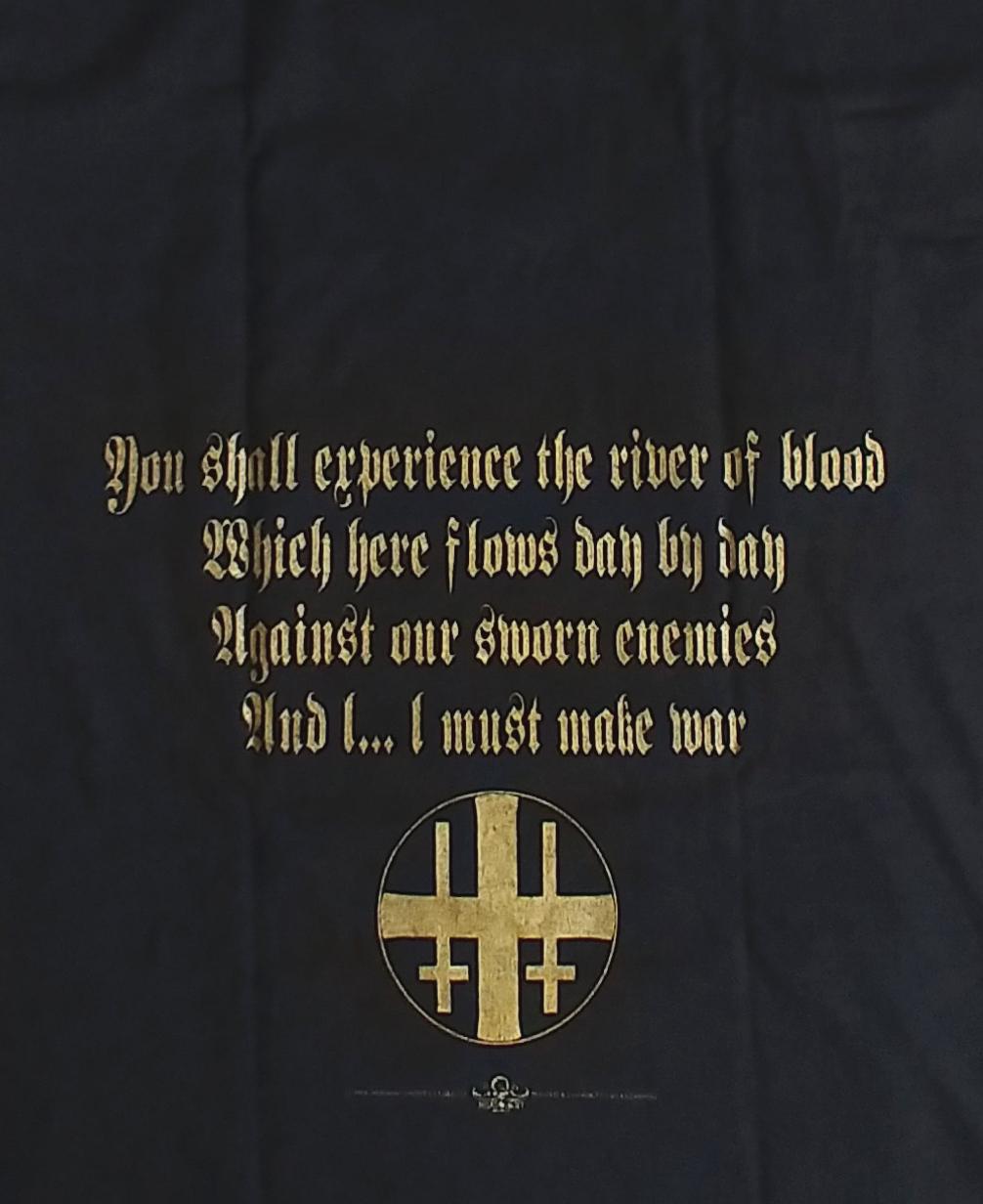【在庫有り商品】MAYHEM -メイヘム- BLOOD 「ブラッド」  Tシャツ Mサイズ【コレクターズアイテム】