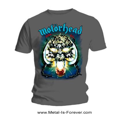 MOTORHEAD -モーターヘッド- OVERKILL 「オーバーキル」 Tシャツ(チャコール・グレー)
