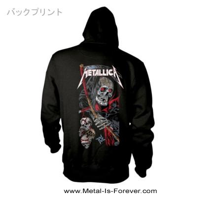 METALLICA -メタリカ- DEATH REAPER 「デス・リパー」 ジップ・パーカー