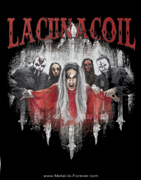 LACUNA COIL (ラクーナ・コイル) THE 119 SHOW - LIVE IN LONDON 「ザ・119・ショー:ライヴ・イン・ロンドン」 Tシャツ