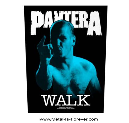 PANTERA (パンテラ) WALK 「ウォーク」 バックパッチ