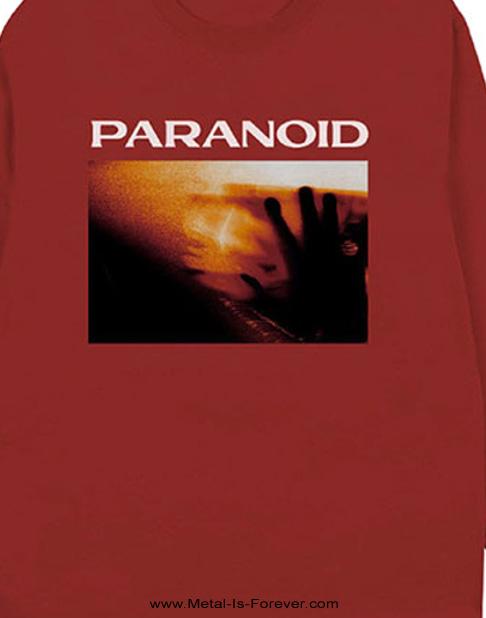 BRING ME THE HORIZON (ブリング・ミー・ザ・ホライズン) PARANOID 「パラノイド」 長袖Tシャツ(赤)