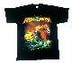 【在庫有り商品】HELLOWEEN -ハロウィン- STRAIGHT OUT OF HELL 「ストレイト・アウト・オブ・ヘル」 Tシャツ Lサイズ