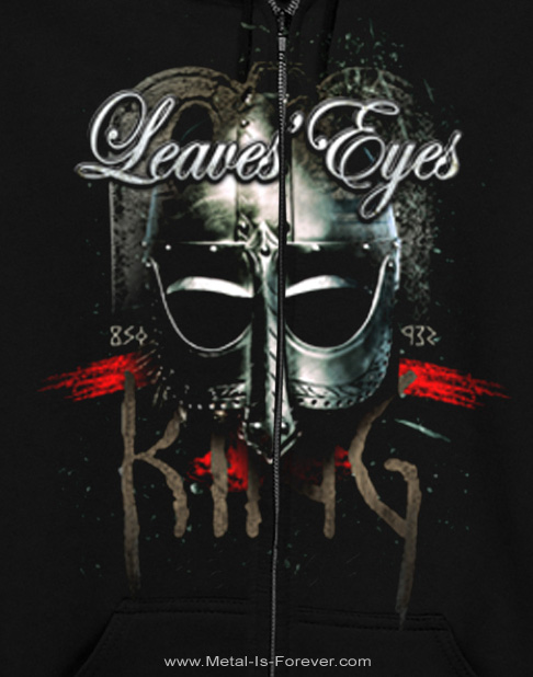LEAVES' EYES -リーヴズ・アイズ- KING OF KINGS 「キング・オヴ・キングス」 ジップ・パーカー
