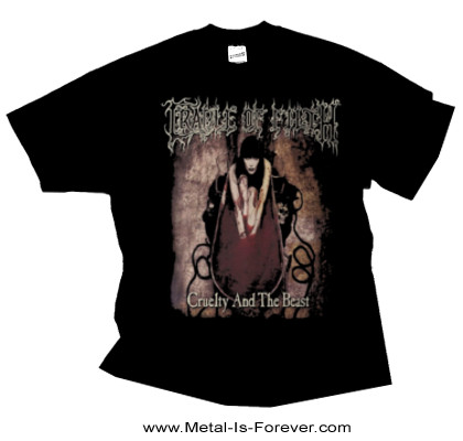 CRADLE OF FILTH -クレイドル・オブ・フィルス- CRUELTY AND THE BEAST 「鬼女と野獣」 Tシャツ