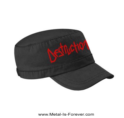 DESTRUCTION -デストラクション- LOGO 「ロゴ」 アーミー・キャップ