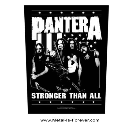 PANTERA (パンテラ) STRONGER THAN ALL 「ストロンガー・ザン・オール」 フォト バックパッチ