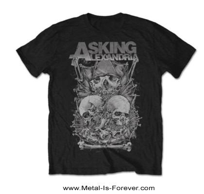 ASKING ALEXANDRIA (アスキング・アレクサンドリア) SKULL STACK 「スカル・スタック」 Tシャツ