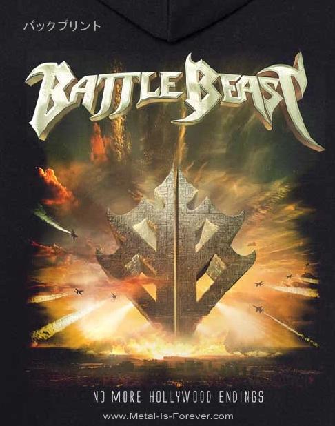 BATTLE BEAST (バトル・ビースト) NO MORE HOLLYWOOD ENDINGS 「ノー・モア・ハリウッド・エンディングス」 ジップ・パーカー