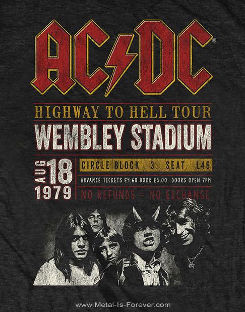 AC/DC (エーシー・ディーシー) WEMBLEY '79 「ウェンブリー '79」 エコTシャツ
