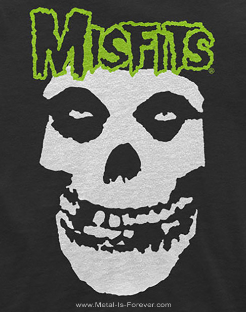 MISFITS (ミスフィッツ) SKULL & LOGO 「スカル&ロゴ」 キッズTシャツ