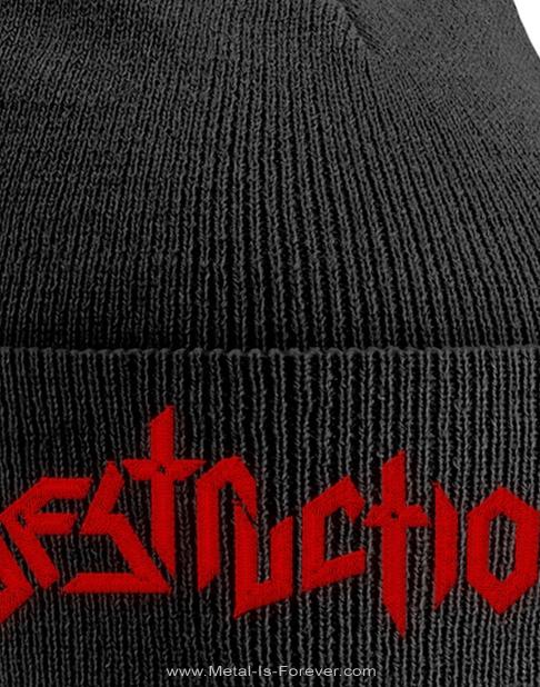 DESTRUCTION -デストラクション- LOGO 「ロゴ」 ニットキャップ