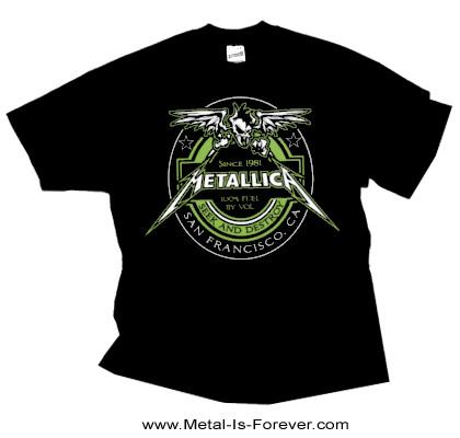 METALLICA (メタリカ)  100% FUEL 「100% フューエル」 Tシャツ