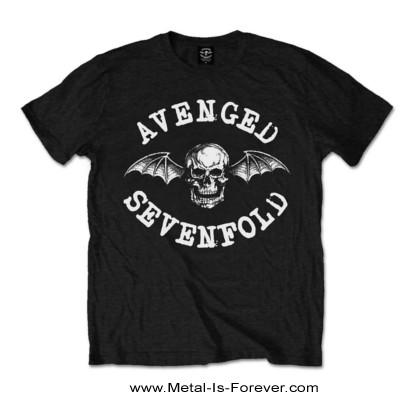 AVENGED SEVENFOLD (アヴェンジド・セヴンフォールド) CLASSIC DEATHBAT 「クラシック・デスバット」 キッズ Tシャツ