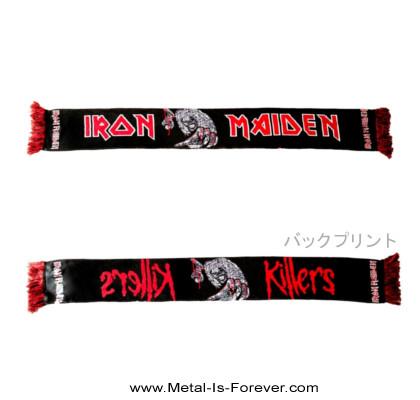 IRON MAIDEN (アイアン・メイデン) KILLERS 「キラーズ」 マフラー