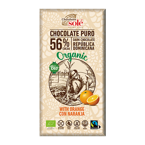 [チョコレートソール]【冬季限定】ダークチョコレート 56% オレンジ