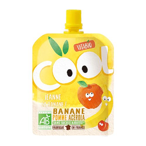 [ヴィタビオ]クールフルーツ アップル・バナナ