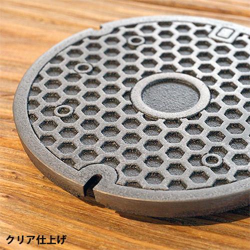 ミニチュアマンホール 亀甲 【1/6スケール】