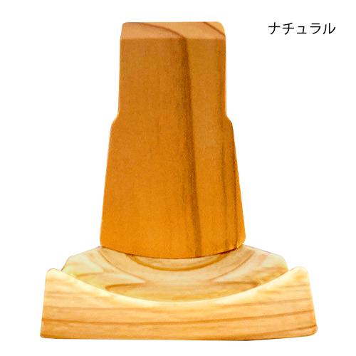 ミニチュアマンホール  木製スタンド 【1/6スケール】