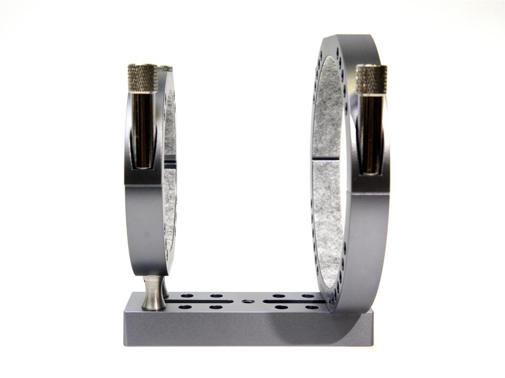 TB019-スポット式鏡筒バンドスペーサー高さ17.5�タイプ 4点セット BORG鏡筒対応可能 クリックポスト送料一律200円