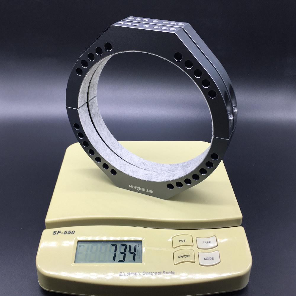 TB012-内径145mm 新型超軽量化設計鏡筒バンド タカハシFS128対応 ゆうパック全国送料無料