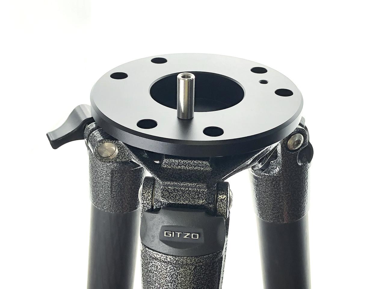 SD017-ジッツオ5型三脚対応 ビクセン取付直径Φ60�赤道儀用アダプター VIXEN-GP、GPD、旧型GP2等使用可能 クリックポスト送料一律200円