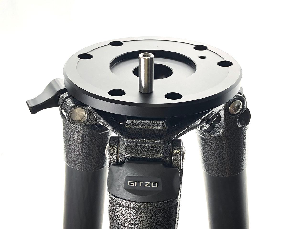 SD019-ジッツオ5型三脚用対応 タカハシEM/Skywatcher赤道儀用アダプター クリックポスト送料一律200円