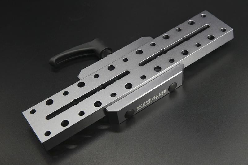 AU114-MORE BLUE規格イージーロック 105mmアリミゾ AU009アリガタ対応 クリックポスト送料一律200円