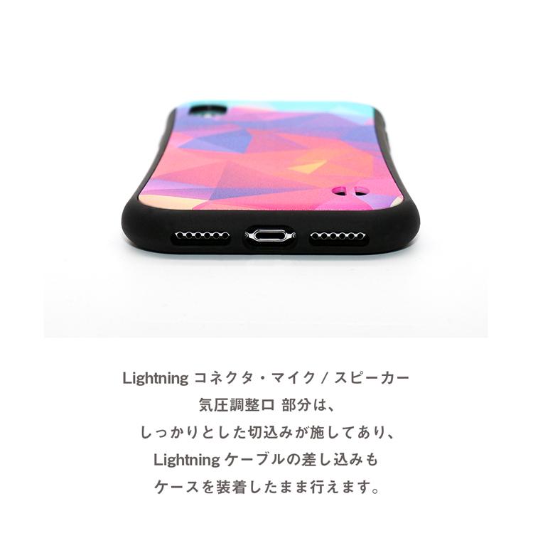 iPhoneケース 【 ポリゴン 】 耐衝撃 バンパータイプ iPhone12,iPhone12mini,iPhone12Pro,iPhone12ProMAX,iPhoneSE2,SE第2世代,iPhone11,iPhone11Pro,iPhone11ProMAX,iPhoneXR,iPhoneXSMax,iPhoneXS,iPhoneX,iPhone8,iPhone7 ストラップホール付き