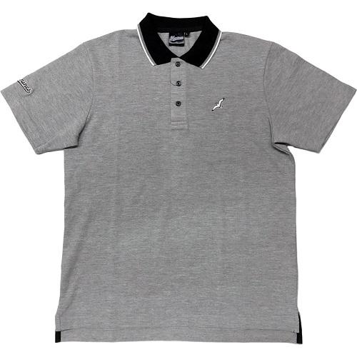 ポロシャツ(鴎)グレー