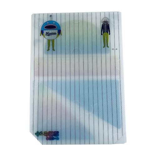 二つ折りケース付き定規セット(謎の魚)