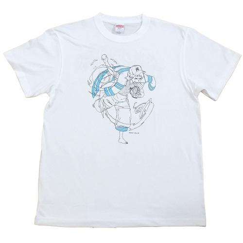 炎炎ノ消防隊×マリーンズ 線画Tシャツ