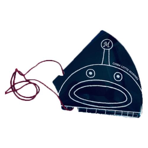 メガホンうちわ(謎の魚)
