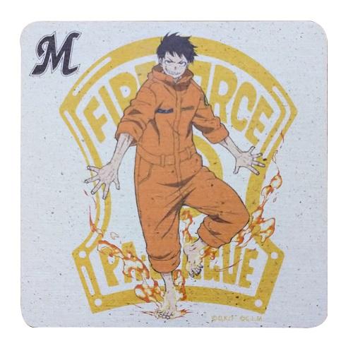 炎炎ノ消防隊×マリーンズ ドライコースター