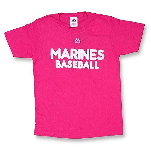 レディースロゴTシャツ ピンク