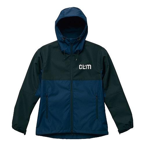 「CLM」スイッチングシェルパーカ ネイビー/ブラック