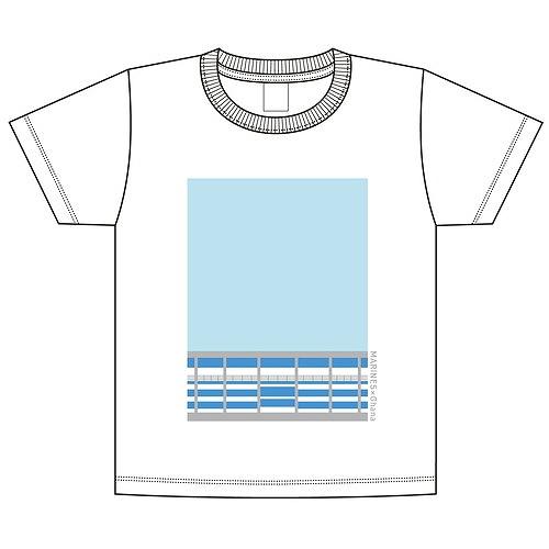 MARINES×Ghana Tシャツ ホワイト