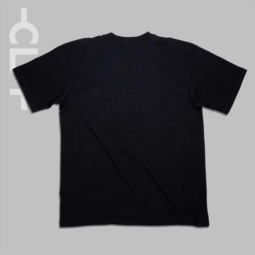 CLMロゴ 半袖Tシャツ ブラック