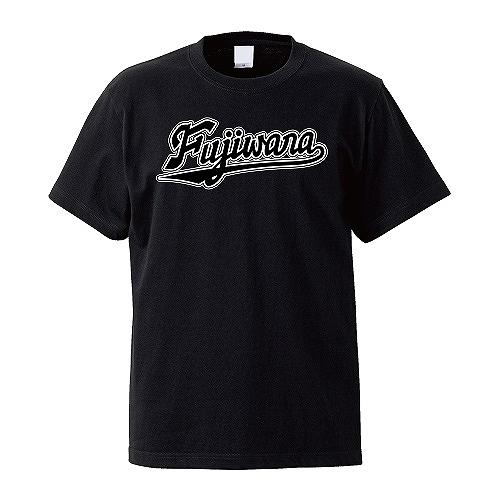 ワードロゴ ネーム&ナンバーTシャツ ブラック