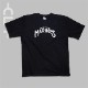 クラックロゴ 半袖Tシャツ ブラック