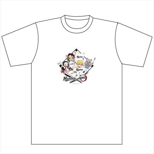 マリーンズ×鬼滅の刃 Tシャツ(SDキャラ集合)
