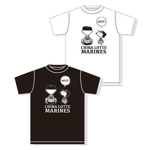 SNOOPY×MARINES Tシャツ