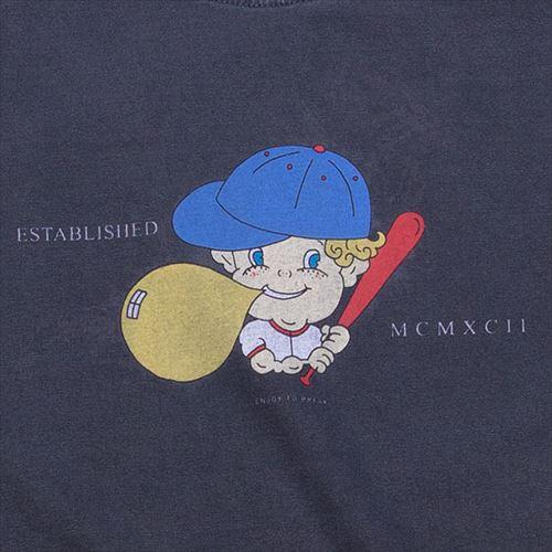 バブル坊や 半袖Tシャツ スミクロ