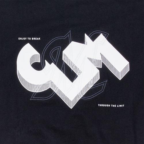 CLM立体ロゴ BIGTシャツ ブラック