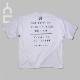 メッセージ BIGTシャツ ホワイト