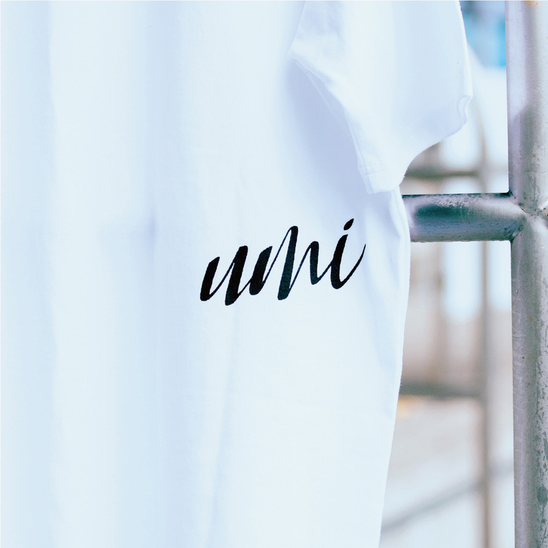 umi TEE(your marine life is) ホワイト