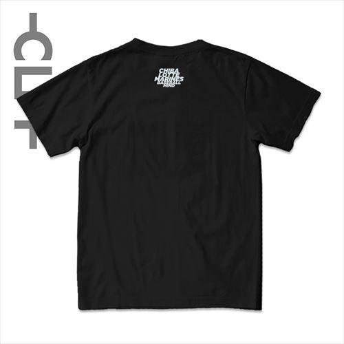 グラデーションMINDロゴ 半袖TEE ブラック(MRT21-1004)