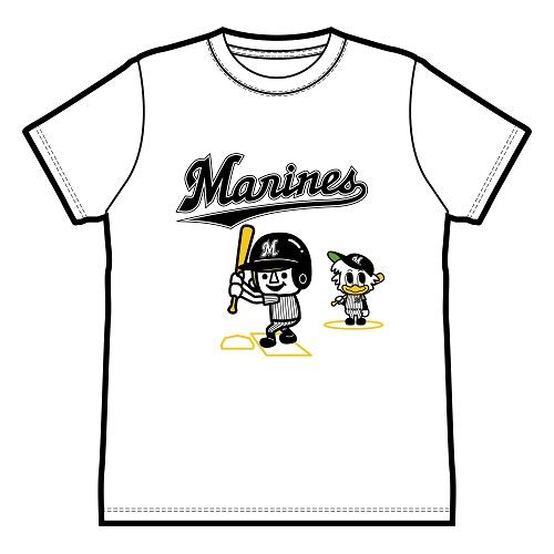 千葉ロッテマリーンズ×Laundry コラボTシャツ2020
